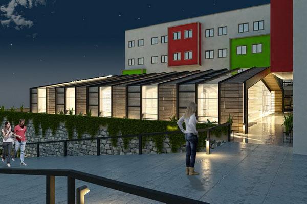 Karabük Üniversitesi Mimarlık ve Mühendislik Fakültesi ile Yemekhane ve Kantin Binası